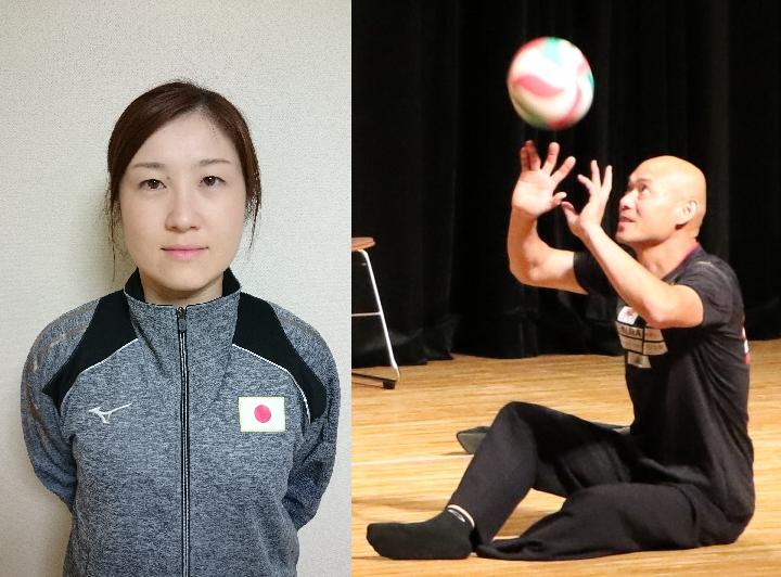 東京2020パラリンピック シッティングバレーボール日本代表に田中浩二選手、田中ゆかり選手が決定!!